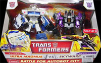 Classics Transformers Ultra Magnus vs. Skywarp two-pack (Target exclusive)