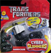 Transformers (Movie) Cyber Slammers Barricade