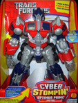 Transformers (Movie) Cyber Stompin' Optimus Prime