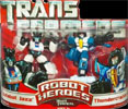 Transformers (Movie) Robot Heroes Autobot Jazz vs. Thundercracker