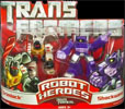 Transformers (Movie) Robot Heroes Grimlock vs. Shockwave