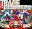 Transformers (Movie) Robot Heroes Mirage vs. Starscream