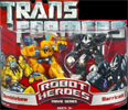 Transformers (Movie) Robot Heroes Bumblebee vs. Barricade