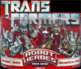 Transformers (Movie) Robot Heroes Autobot Jazz vs. Decepticon Frenzy