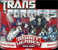 Transformers (Movie) Robot Heroes Optimus Prime vs. Blackout