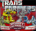 Transformers (Movie) Robot Heroes Autobot Ratchet vs. Megatron