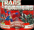 Movie Robot Heroes Optimus Prime vs. Ravage
