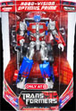 Transformers (Movie) Robo Vision Optimus Prime (voyager, Target exclusive)