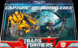 Transformers (Movie) Screen Battles Capture of Bumblebee (Bumblebee with Simmons and Sector Seven agents)