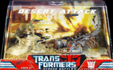 Transformers (Movie) Screen Battles Desert Attack (Scorponok with Epps, Figueroa and Donnelly)
