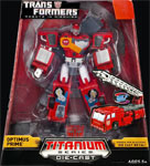 "Transformers Titanium Optimus Prime - Robots in Disguise (6"")"