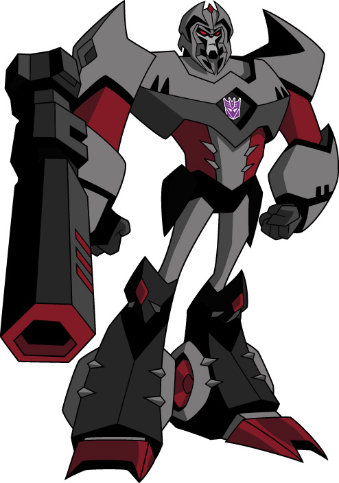 Images du design des personnages de Transformers Animated MEGATRON%20POSE%201