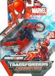 Transformers Crossovers Spider-Man (cycle re-deco)