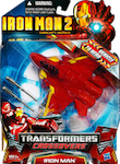 Transformers Crossovers Iron Man 2 (jet)