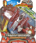 Transformers Crossovers Iron Man (Silver Centurion)