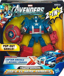 Transformers Crossovers Captain America (Avengers)