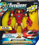 Transformers Crossovers Iron Man (Avengers)