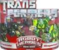 Transformers (Movie) Robot Heroes Ironhide vs. Dispensor (Movie)