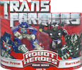 Transformers (Movie) Robot Heroes Optimus Prime vs. Barricade (Movie)