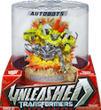 Transformers (Movie) Unleashed Turnarounds Autobot Ratchet & Autobot Jazz (unreleased in US)