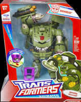 Transformers Animated Bulkhead (with Headmaster)