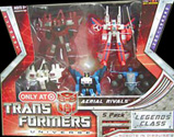 Transformers Universe Legends Aerial Rivals 5-pack (Target exclusive - Autobot Blades, Air Raid, Skydive, Thrust, and Ramjet)