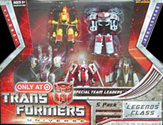 Transformers Universe Legends Special Team Leaders 5-pack (Target exclusive - Razorclaw, Scattorshot, Silverbolt, Hun-Gurrr, and Autobot Hot Zone)
