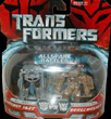 Transformers (Movie) Legends Autobot Jazz vs. Bonecrusher