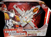 Transformers Universe Powerglide (White w/ red)