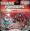 Transformers Universe Robot Heroes Arcee vs. Decepticon Rumble (G1)