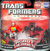Transformers Universe Robot Heroes Autobot Blaster vs. Thrust (G1)