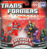 Transformers Universe Robot Heroes Ironhide vs. Kickback (G1)