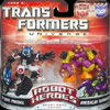 Transformers Universe Robot Heroes Optimus Primal vs. Predacon Tarantulas (Beast Wars)