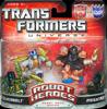 Transformers Universe Robot Heroes Silverbolt vs. Megatron (G1)