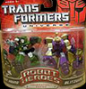 Transformers Universe Robot Heroes Autobot Hound vs. Blitzwing (G1)