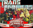 Transformers (Movie) Robot Heroes Ironhide vs. Bonecrusher