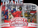 Movie Robot Heroes Optimus Prime vs. Scorponok