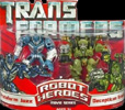 Transformers (Movie) Robot Heroes Protoform Jazz vs. Decepticon Brawl