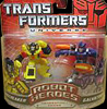 Transformers Universe Robot Heroes Sunstreaker vs. Galvatron (G1)