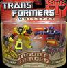 Transformers Universe Robot Heroes Sunstreaker vs. Galvatron (G1)