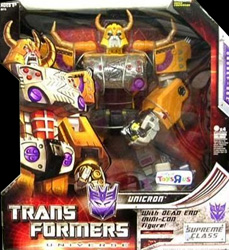 Transformers Universe Unicron w/ Dead End (Toys R Us exclusive)