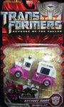 Transformers 2 Revenge of the Fallen Autobot Skids & Mudflap (ice cream truck)