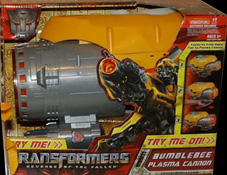 Transformers 2 Revenge of the Fallen Bumblebee Plasma Cannon