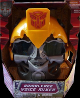 Transformers 2 Revenge of the Fallen Bumblebee Voice Mixer Helmet