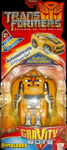 Transformers Revenge of the Fallen (Movie 2) Gravity Bot Bumblebee