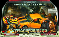 Transformers Revenge of the Fallen (Movie 2) Human Alliance Bumblebee