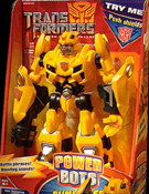 Transformers 2 Revenge of the Fallen Power Bots Bumblebee