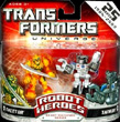 Transformers Universe Robot Heroes Cheetor vs. Tankor (Beast Machines)