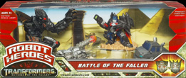 Transformers 2 Revenge of the Fallen Battle of the Fallen - Ironhide, Jetpower Optimus Prime, Megatron, The Fallen