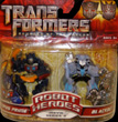 Transformers 2 Revenge of the Fallen Robot Heroes Optimus Prime vs. Blackout
